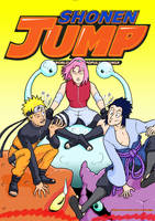Shonen Jump Cover: 2010 (minus the text) by GarthHaslam