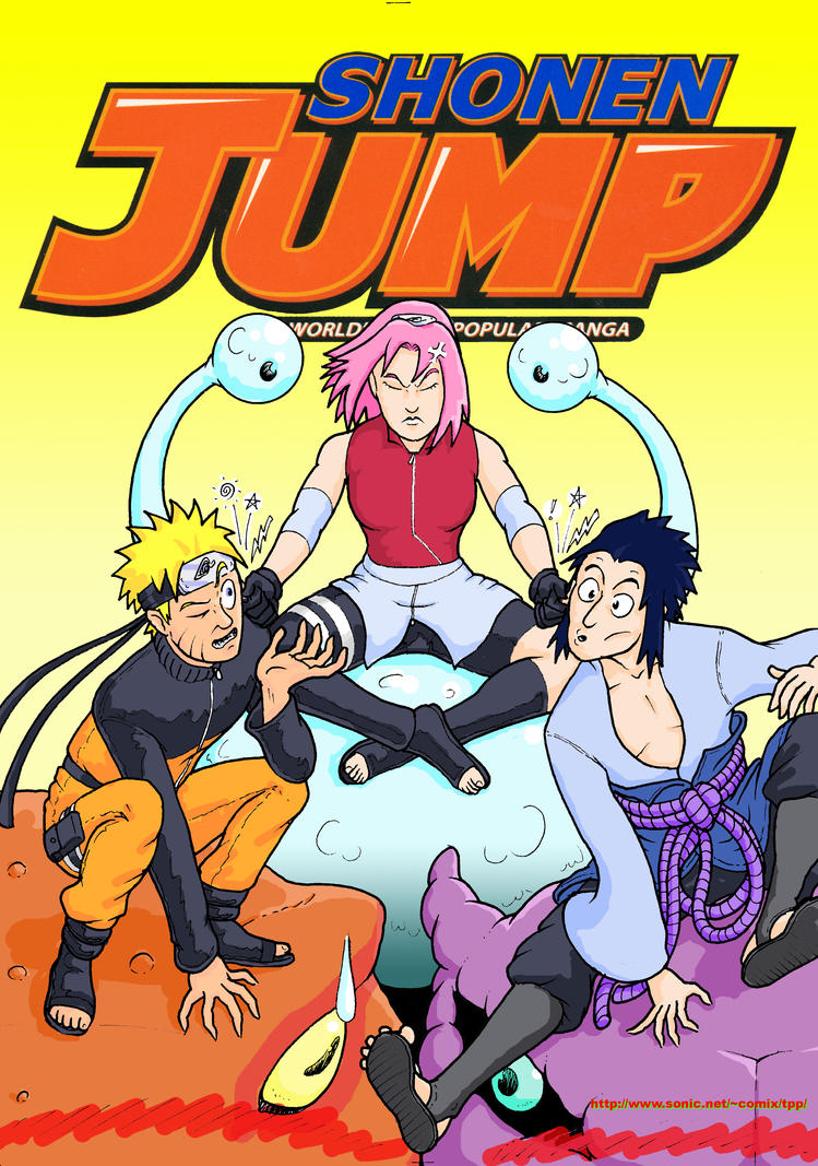 Shonen Jump Cover: 2010 (minus the text) by GarthHaslam