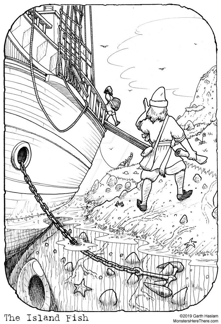 The Island Fish by GarthHaslam
