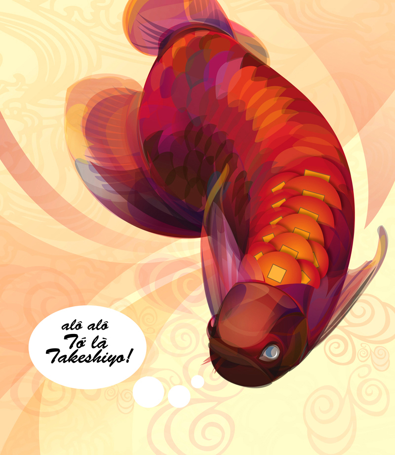 arowana for fun by unpretty