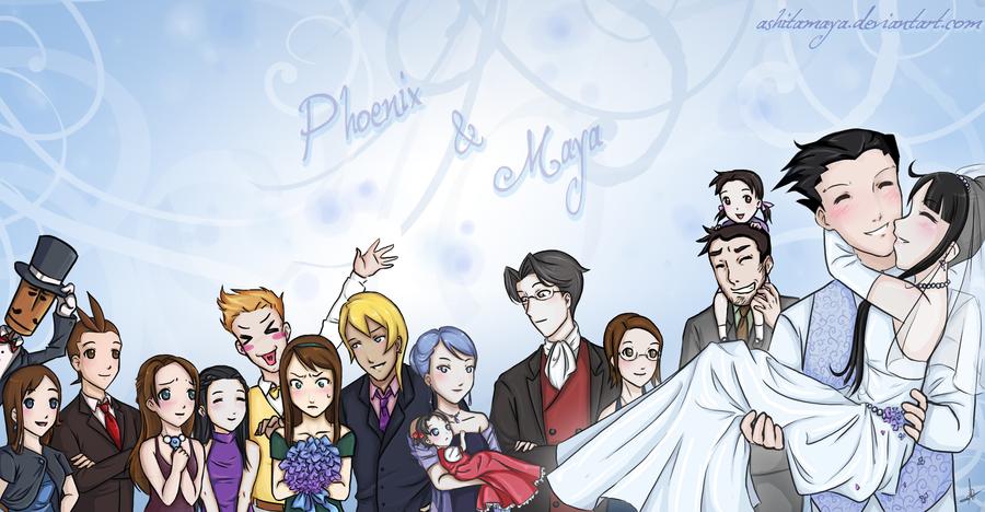 Maya and nick wedding