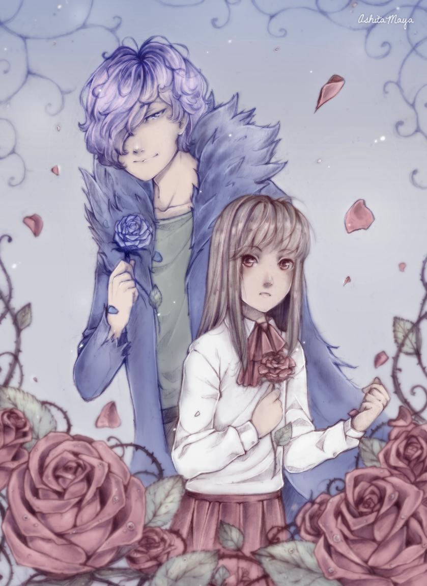 Garry and Ib by AshitaMaya