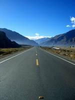 Tibet road trip by lefteyeblind