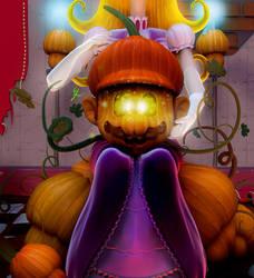 mario bros - pumpkin kingdom by Efraimrdz