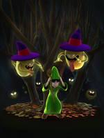Ghost Dragon Quest - Autumn Challenge by Efraimrdz