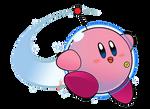 Kirby abilities - Astronaut Kirby