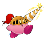 Kirby abilities - Lance Kirby