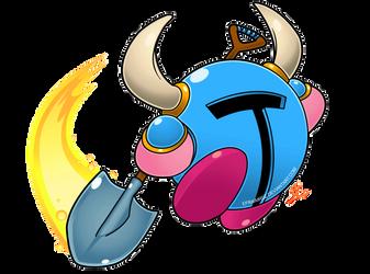 Kirby abilities extra - kirby shovel knight by Efraimrdz