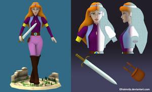 Cartoon Zelda 3d by Efraimrdz
