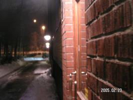 my outside wall by SassaCYber