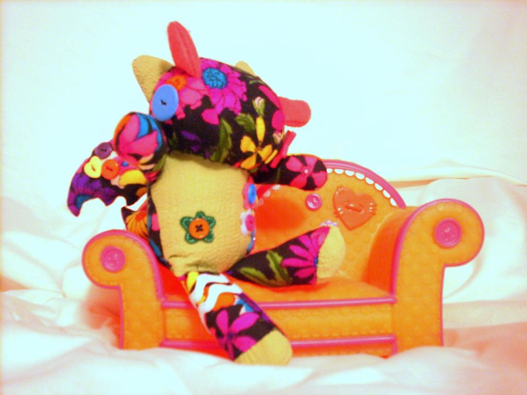 Janky Cogs OOAK Baby Scrap Dragon by sakihrumino