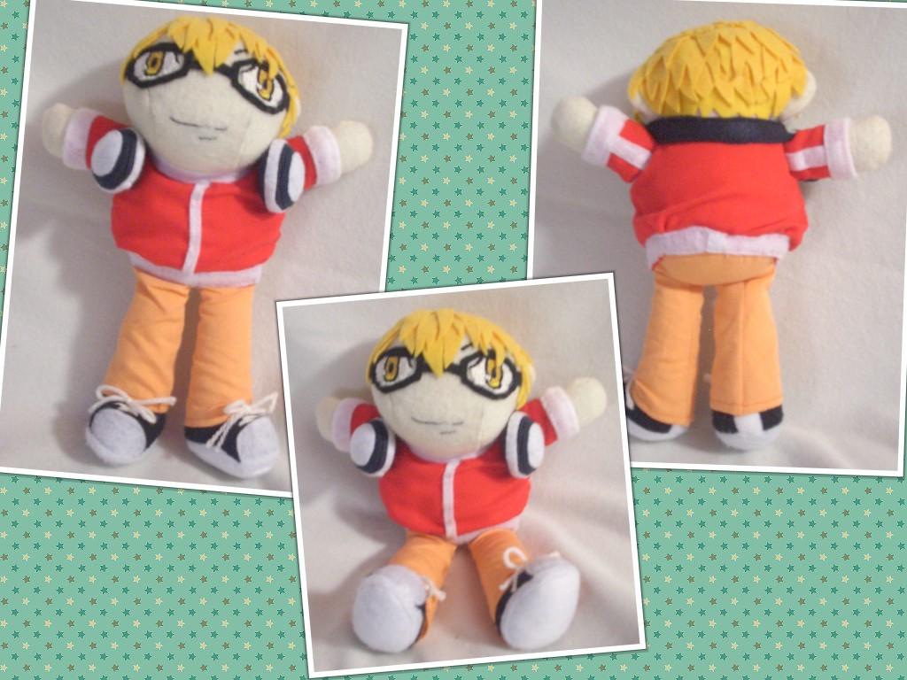 Akito Takagi Bakuman Shuujin Plush Art Doll by sakihrumino