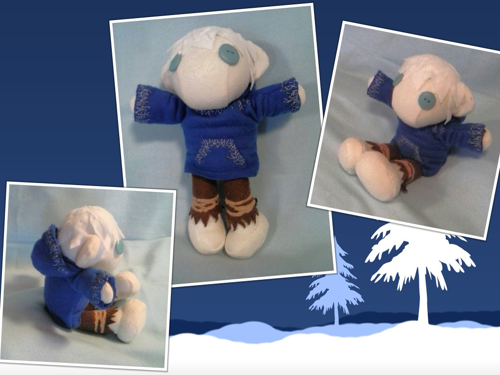Jack Frost Plush Commission by sakihrumino