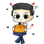 Jim halloween sketch by Lumicat12