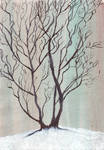 Winter Tree by Zunka-Elyon