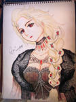 The Dark Blizzard Queen Elsa (FanArt)