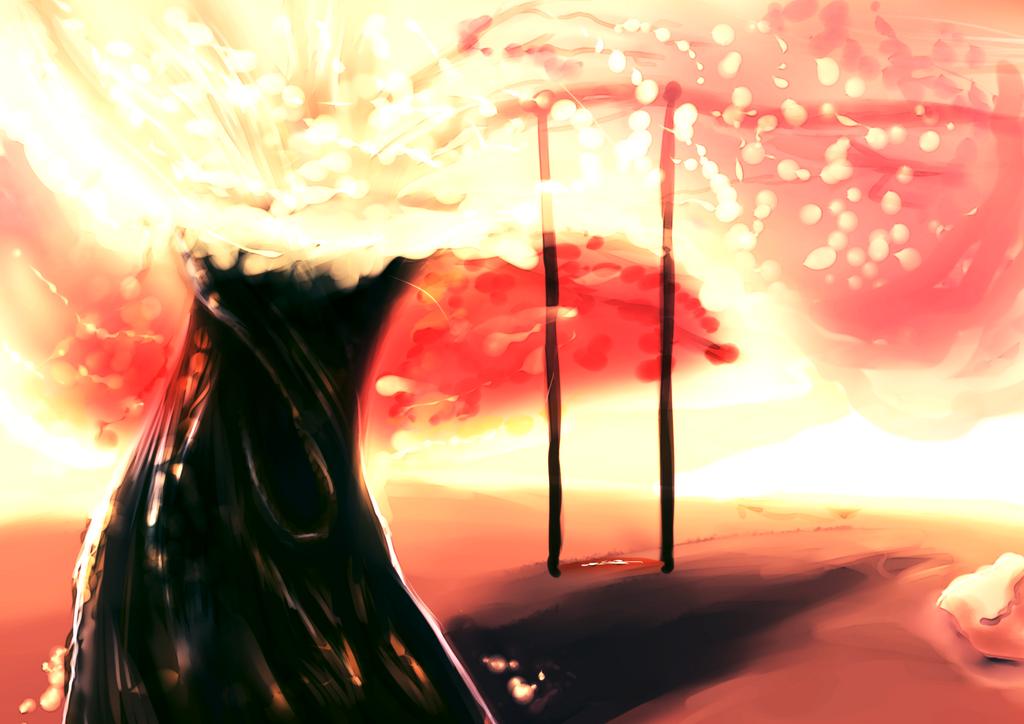 Warmth Tree by FatBirdStudio