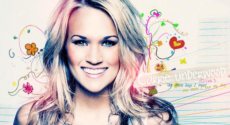 Carrie Underwood by OrangeC