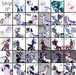 [Ship Grid] Pretty X Pretty Trash - OPEN by X-Vintage--Owl-X