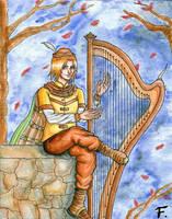 - Joue moi de la harpe...-