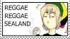Reggae Reggae Sealand Stamp by TheWorldEndsWithAxel