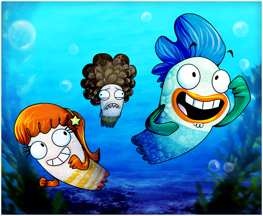 Fish hooks by zakeno on deviantart for Milo fish hooks