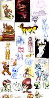 Sketchdump of cool stuff by Zakeno