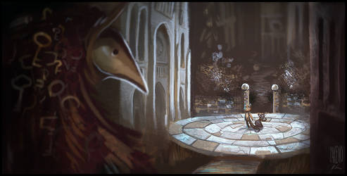 The Beast of Keys by Zakeno