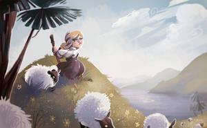 Sheep by Zakeno