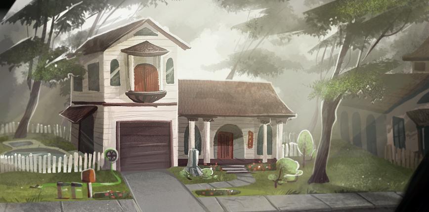 Emily's House by Zakeno
