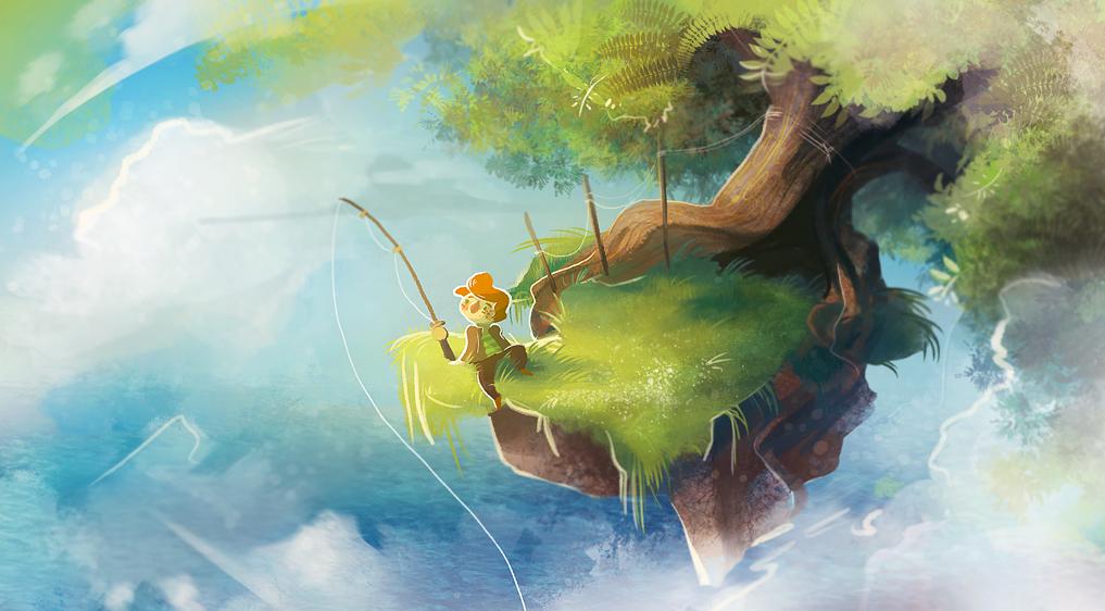 The Flying Tree by Zakeno