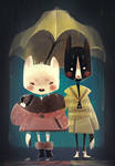 Cats in the Rain