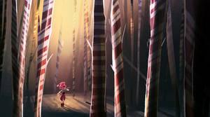 Peppermint Forest by Zakeno