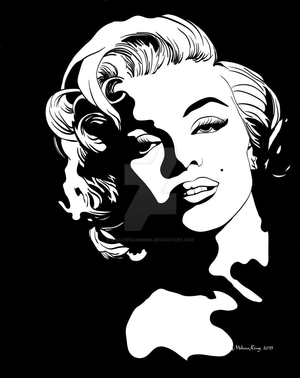 MarilynMonroe-01 by WillowSeawinds on DeviantArt