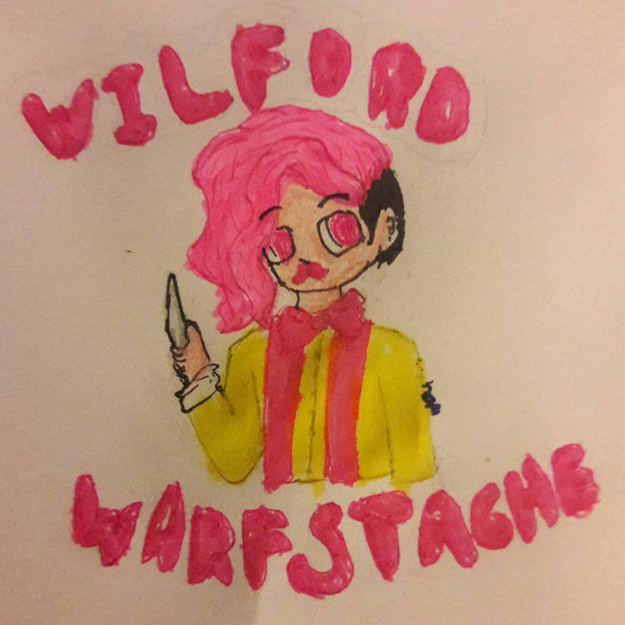 WILFORD WARFSTACHE  by ArtNoam169