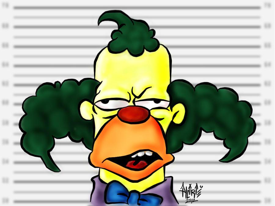 Lisa Simpson, and Krusty the Clown