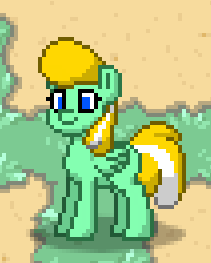 Animelodie in Pony.Town! by AnimelodieVA