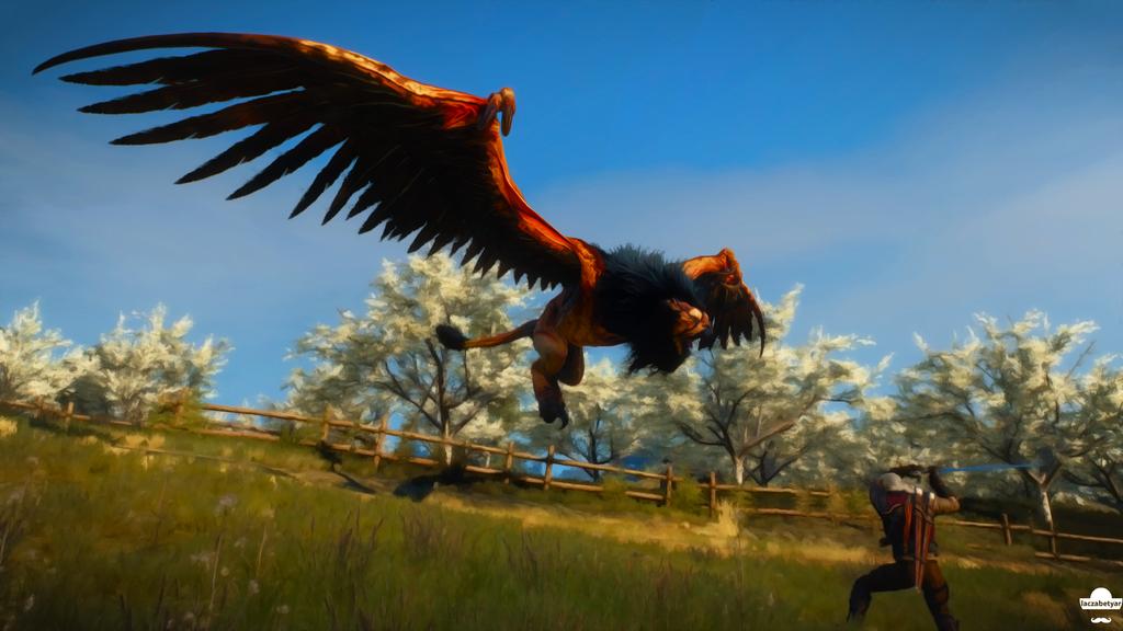 Griffin by laczabetyar