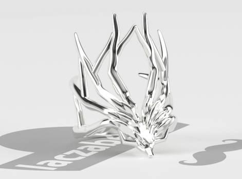 Xerneas Antlers Ring