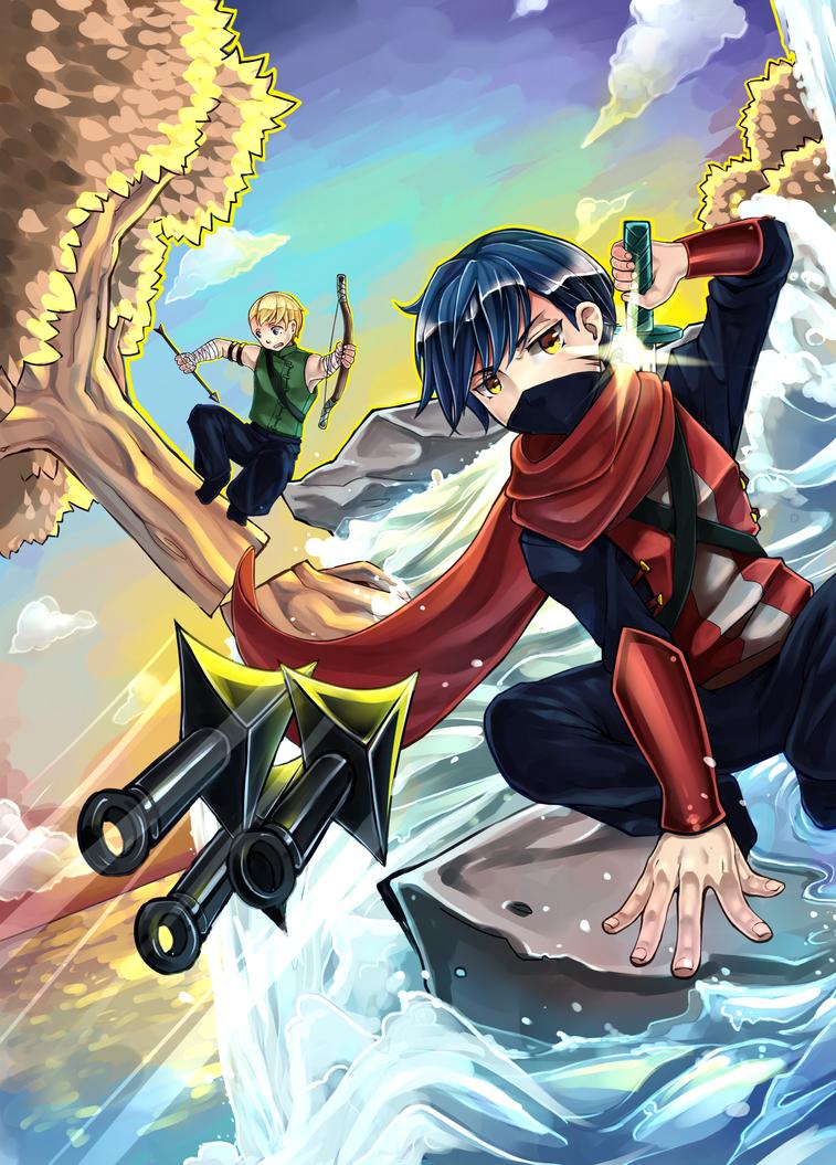 Ninja's by Aquaelle