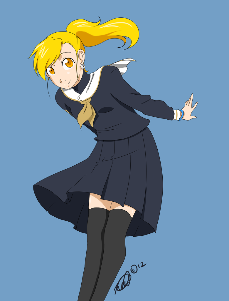 Eloise's sailor suit by katkitoshi