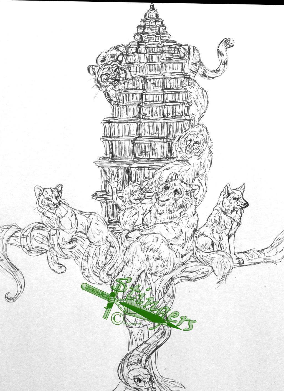 The Jungle Book Broadsword Sketch By StingersSwords On DeviantArt