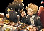 [Render] Tokoyami Fumikage/Hawks