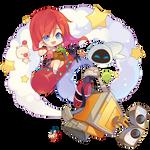 [Render] Kingdom Hearts/WALL-E by xTheBestTulipan