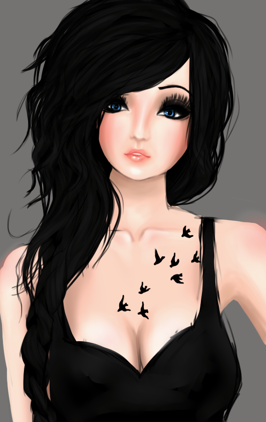 Imvu profile pic for yours truly by wtfImunconscious on DeviantArt
