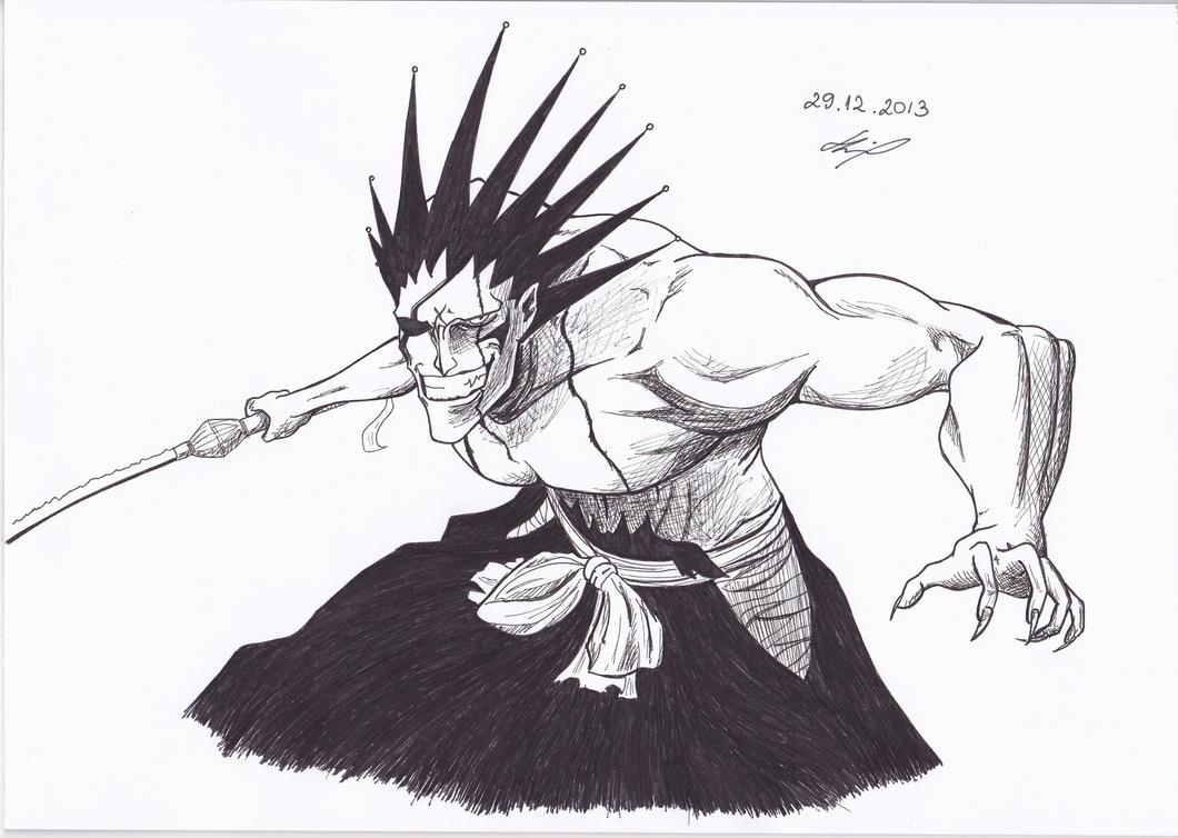Zaraki Kenpachi Bleach By IAmZuo