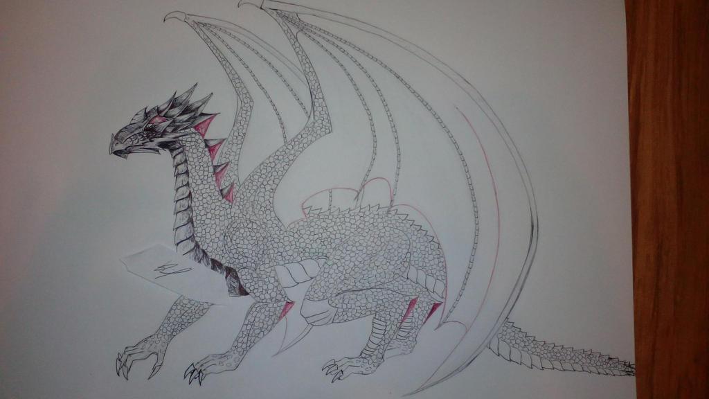 dragon wip by IAmZuo