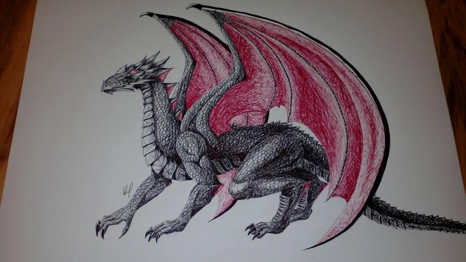 Dragon by IAmZuo