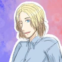 APH - Francis Sketch by Vixichi