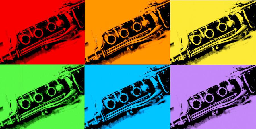 Rainbow Clarinets By Pikfreak